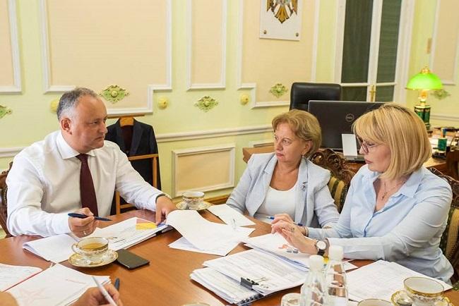 Подготовка кВсемирному конгрессу семей идет полным ходом: Додон провел рабочее заседание (ФОТО)