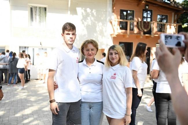 Зинаида Гречаный встретилась с молодыми социалистами (ФОТО)