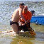 Спасатели инсценировали операцию по спасению утопленников из столичного озера