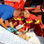 В Сынжерей мужчина упал с 4-метровой высоты: его доставили на вертолете в Кишинев (ВИДЕО)
