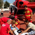 15-летний подросток из Кагула в тяжелом состоянии был доставлен в Кишинев вертолетом SMURD (ВИДЕО)