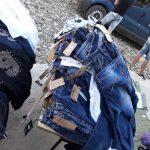 Незаконно ввезённая одежда на 60 тысяч леев была изъята пограничниками (ФОТО)