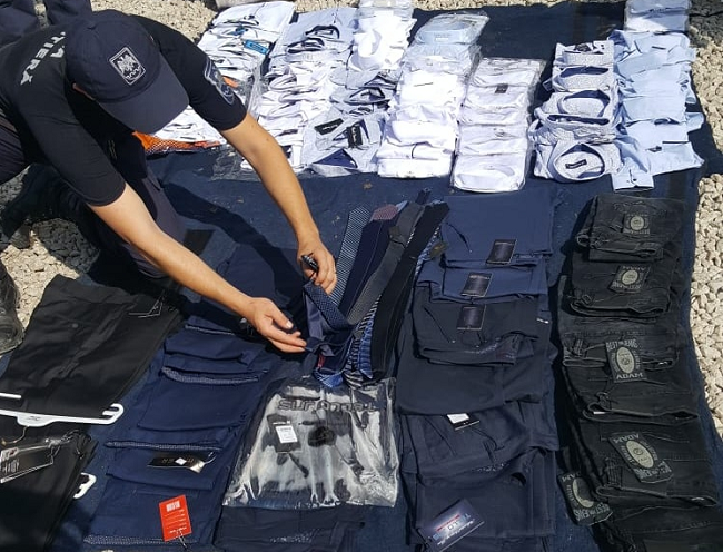 Пограничники предотвратили незаконный шопинг: конфискована одежда на 70 тысяч леев (ФОТО)