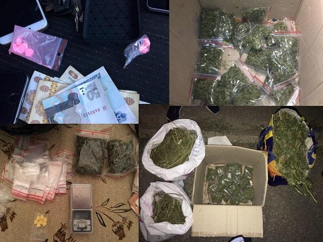 Задержаны 5 членов преступной банды, распространявшей в столице наркотики килограммами (ВИДЕО)