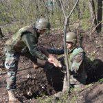 Более 70 взрывоопасных снарядов было уничтожено в июне сапёрами Нацармии