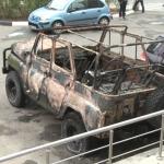 Взорвавшийся на Буюканах автомобиль стоял на парковке с газовым баллоном в салоне около года (ВИДЕО)