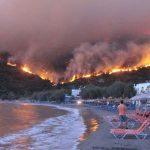 Вниманию молдавских туристов: в Греции высокая пожароопасность