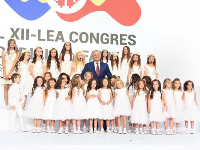 Президент Молдовы принял участие в церемонии закрытия Всемирного конгресса семей (ФОТО, ВИДЕО)