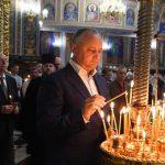 Додон принял участие в официальной службе в Кафедральном соборе Кишинева (ФОТО)