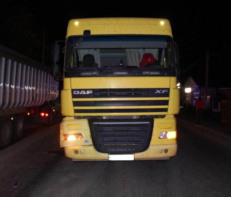 В Гагаузии фура насмерть сбила пешехода