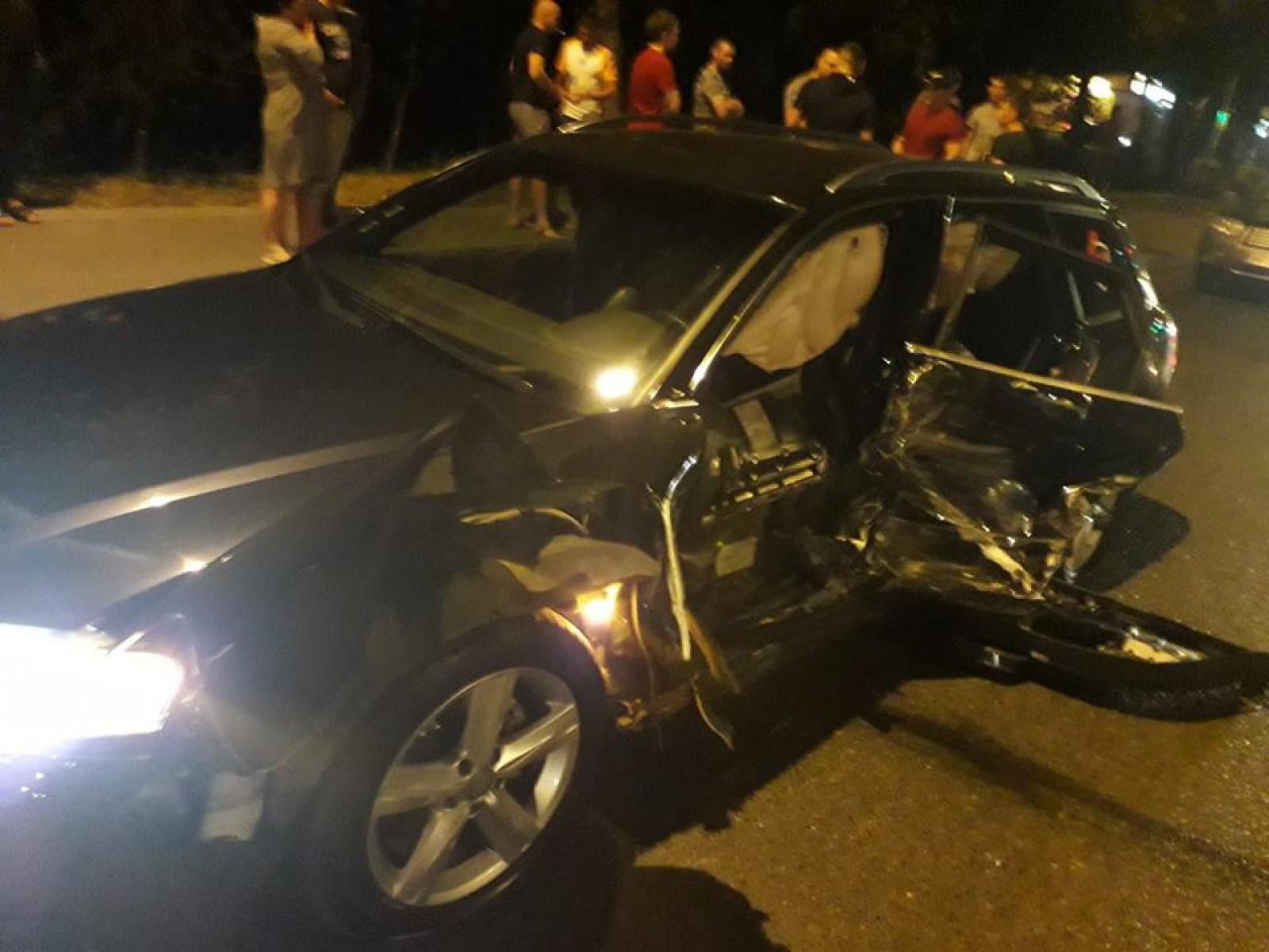 Серьезное ДТП на Чеканах: один из водителей, возможно, был пьян (ФОТО, ВИДЕО)