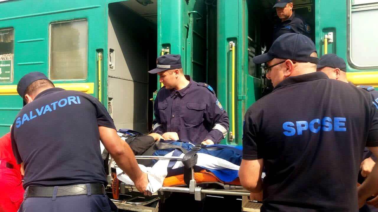 Двое молдаван, пострадавших в несчастных случаях в России, прибыли на родину (ФОТО, ВИДЕО)