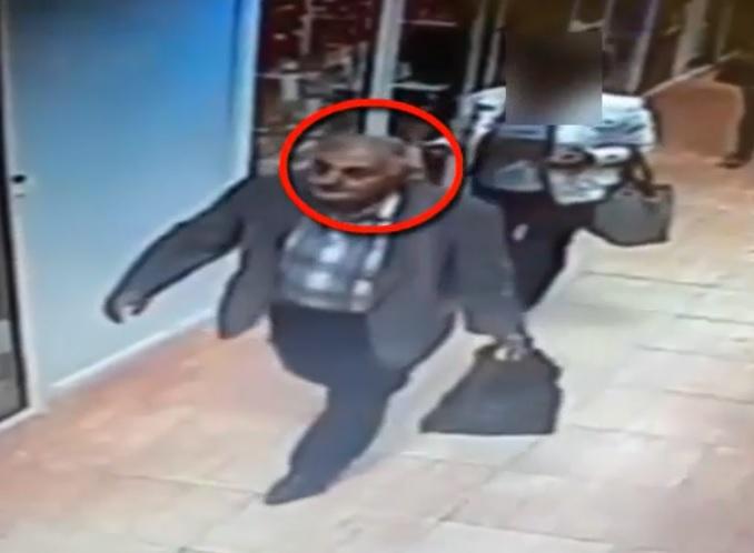 Полиция ищет мужчину, укравшего портмоне у пожилого кишиневца (ВИДЕО)