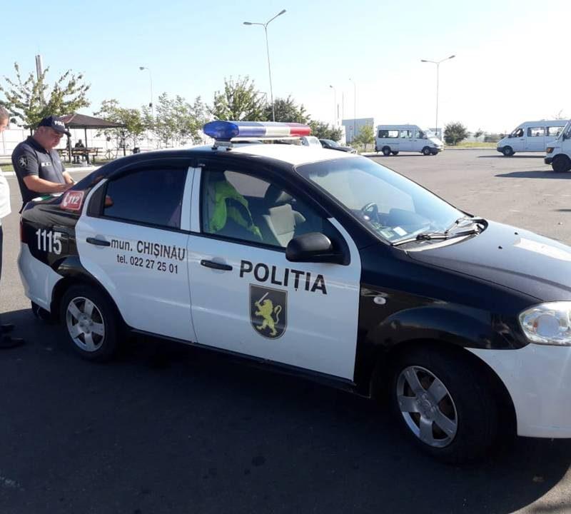 По улицам Кишинева ездят маршрутки и такси с неисправной тормозной системой