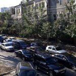 Здравствуйте, школа и пробки: Кишинев вновь наводнен автомобилями (ФОТО, ВИДЕО)