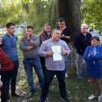 Социалисты работают над обустройством еще одного столичного двора (ФОТО)