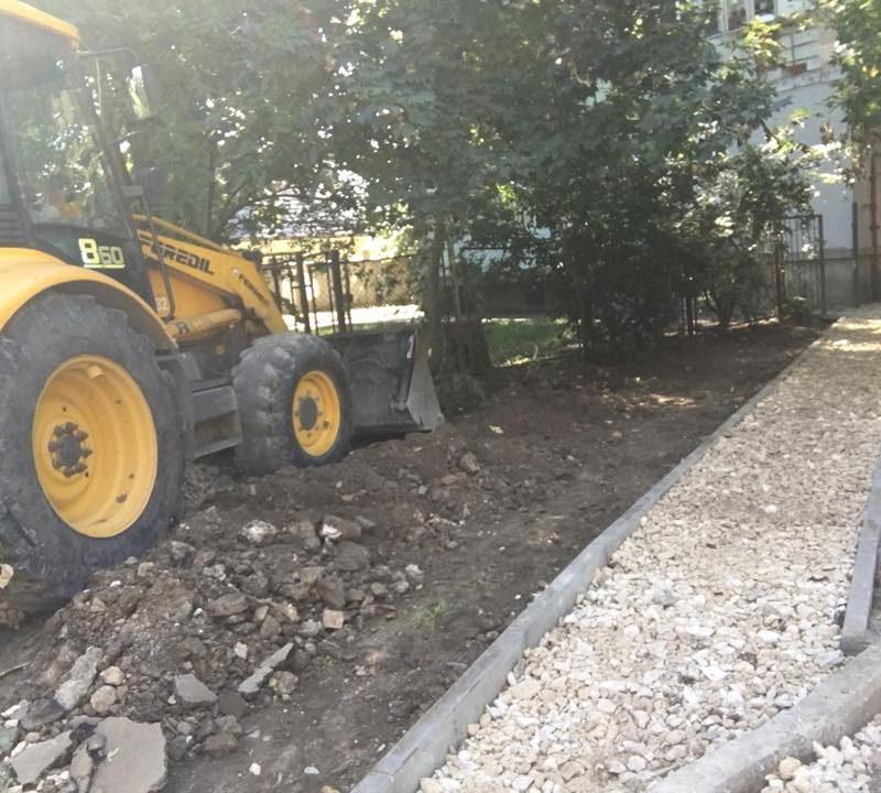 Стараниями социалистов на Телецентре отремонтируют дворы и поставят детские и спортивные площадки (ФОТО, ВИДЕО)