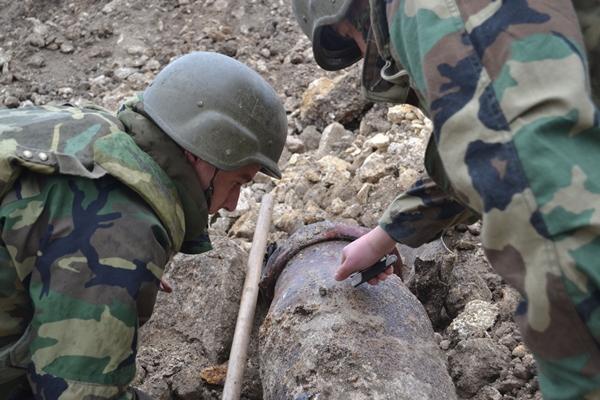 Саперы Нацармии с августа по сентябрь обезвредили 26 взрывоопасных объектов