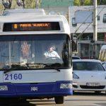 Троллейбус №8 в Кишиневе будет ездить до 01.00