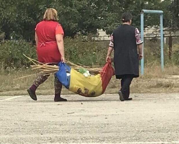 Применение не по назначению флага Молдовы возмутило пользователей соцсети (ФОТО)