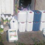 Токсичные вещества на 200 тысяч леев и подпольная лаборатория обнаружены дома у жителя Бричанского района (ВИДЕО)