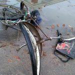 Велосипедист угодил под колеса автомобиля в Каменке (ФОТО)
