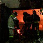 Пожар в Тирасполе: сгорела деревообрабатывающая мастерская (ФОТО)