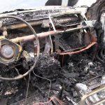 Автомобиль с отцом и сыном загорелся во время движения и чуть не взорвался в Тирасполе (ФОТО)