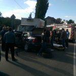 В Пересечино столкнулись грузовик и легковушка: два человека госпитализированы (ФОТО, ВИДЕО)