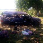 Серьезная авария в Приднестровье: у машины с двумя детьми в салоне отлетело колесо (ФОТО)