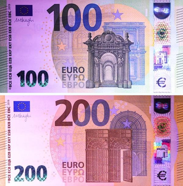 Жителям Молдовы на заметку: как будут выглядеть новые купюры 100 и 200 евро (ВИДЕО)