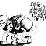 Протесты воров против бандитов