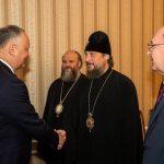 Президент обсудил предстоящий визит в Молдову патриарха Кирилла (ФОТО)