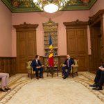 Додон встретился с новоназначенными послами Молдовы в двух странах (ФОТО)