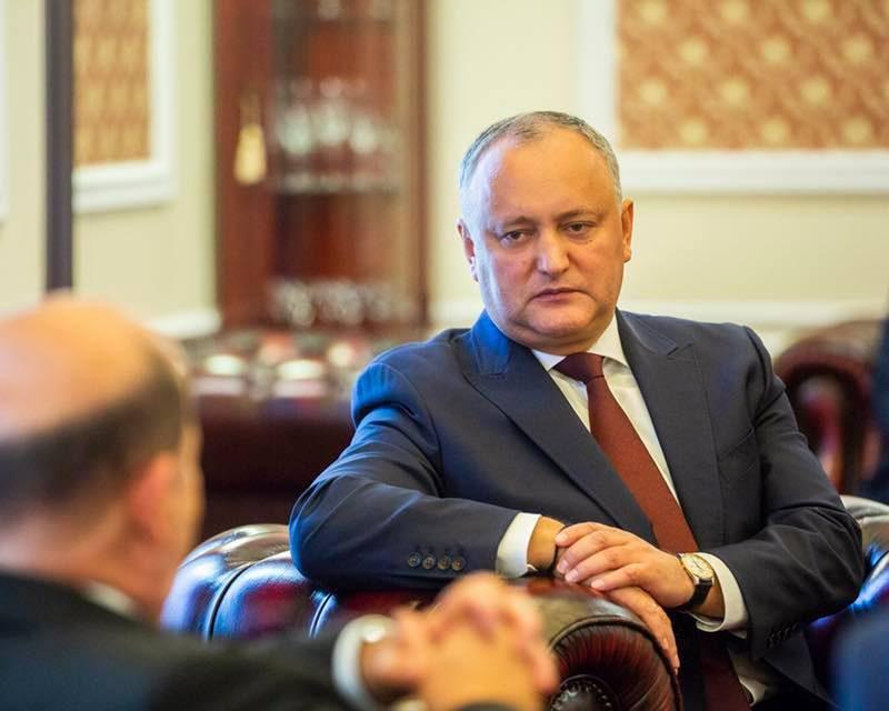 Додон принял новых аккредитованных в РМ иностранных послов (ФОТО)