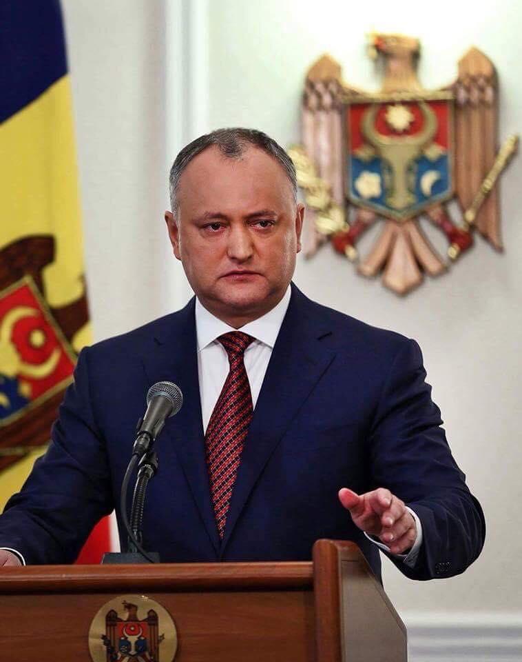 Додон – гражданам Молдовы: Я не сверну со своей позиции, так как знаю, что вы меня поддерживаете (ВИДЕО)