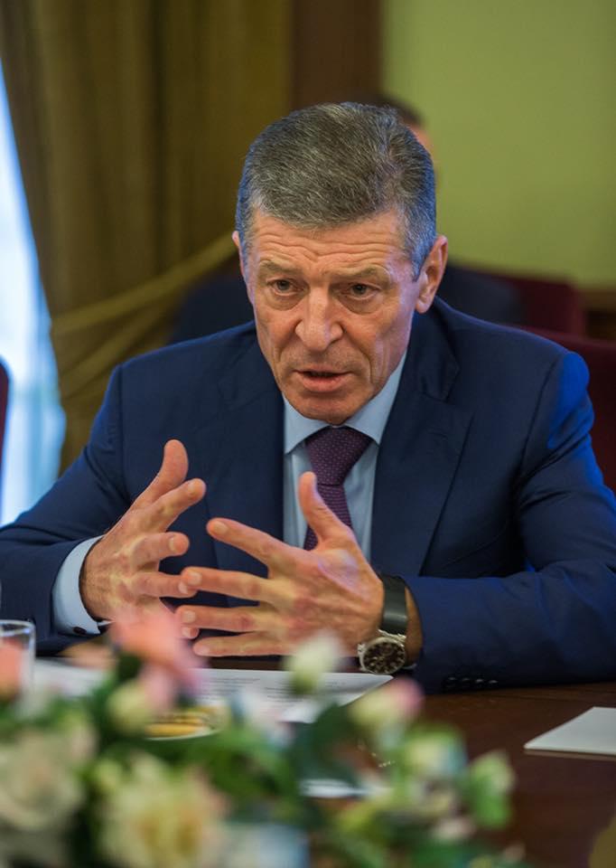 """Козак назвал действия бывших властей Молдовы """"откровенно криминальными"""""""