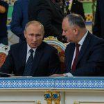 Додон обсудил с Путиным свой предстоящий официальный визит в РФ