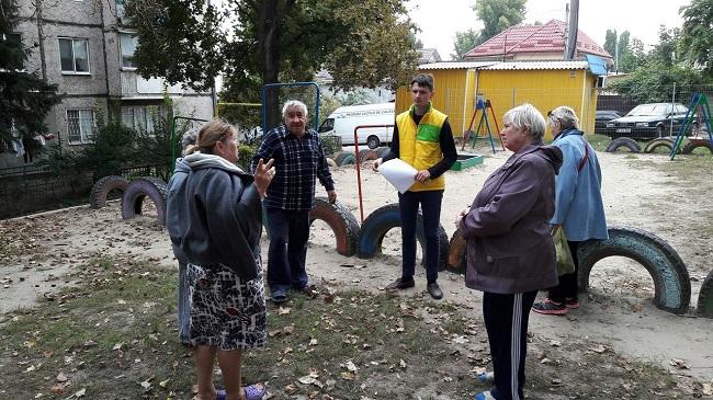 Социалисты планируют благоустройство ещё одного столичного двора (ФОТО)
