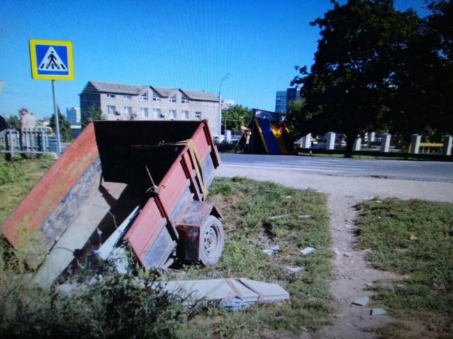 Трагедии на дорогах продолжаются: в Бельцах пожилую женщину насмерть сбил прицеп