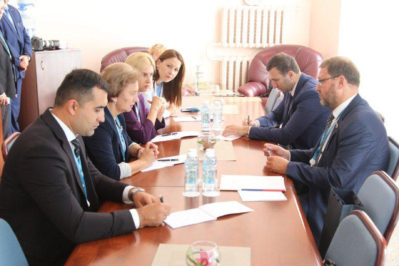 Зинаида Гречаный провела важную встречу на полях второго Евразийского женского форума (ФОТО)