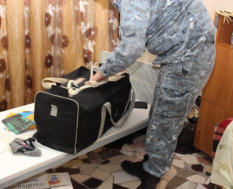 Запрещенные предметы нашли во время внезапных обысков в тараклийской тюрьме