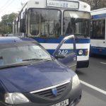 ДТП с участием троллейбуса произошло этим днем в столице (ФОТО)