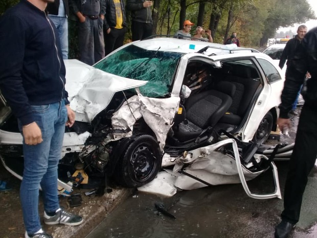 Подробности утренней аварии на Каля Мошилор: два водителя госпитализированы