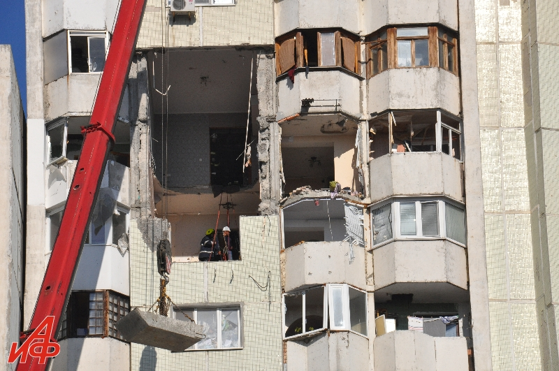 Взрыв на Рышкановке: стало известно, когда жильцы дома смогут вернуться в свои квартиры