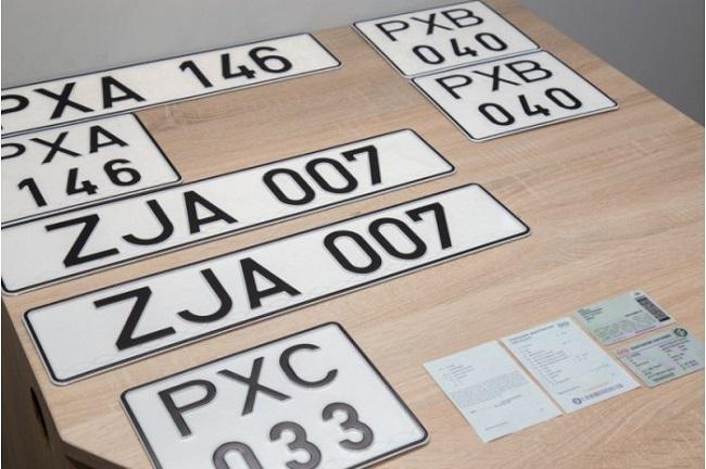 Автомобили с нейтральными номерами с сегодняшнего дня допускаются к международному движению