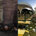 """Горы мусора и грязи: День вина в этом году прошёл с особым """"размахом"""" (ФОТО)"""