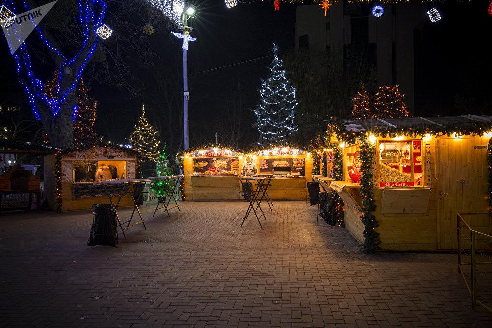 В этом году рождественская ярмарка в Кишиневе вновь откроется на улице 31 августа