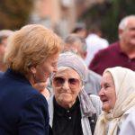 Гречаный поздравила пенсионеров страны с Днем пожилых людей