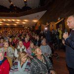 Президент поздравил пенсионеров в Бельцах с Днем пожилых людей (ФОТО)